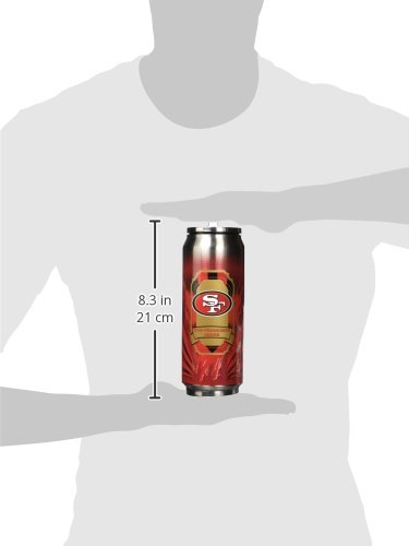 NFL San Francisco 49Ers 16oz Double Wall Stainless Steel Thermocan