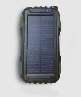 GPWDSN Cargador Solar Portátil 25000mAh, Batería Externa ...
