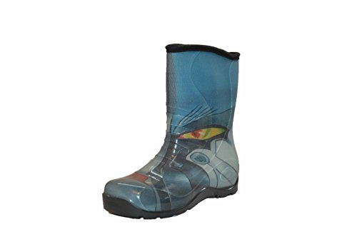Pally Girls/Boys Robot Rain Boot, Robot,2.5 M US Little Kid