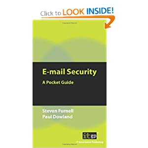 E-Mail Security: A Pocket Guide It Governance Publishing