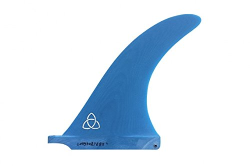 Naked Viking Surf Ola 8.5'' Fiberglass Longboard Fin - Blue