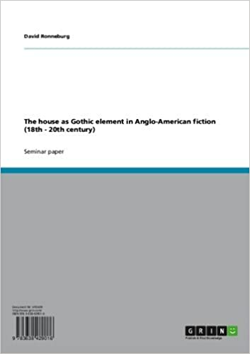 The house as Gothic element in Anglo-American fiction (18th