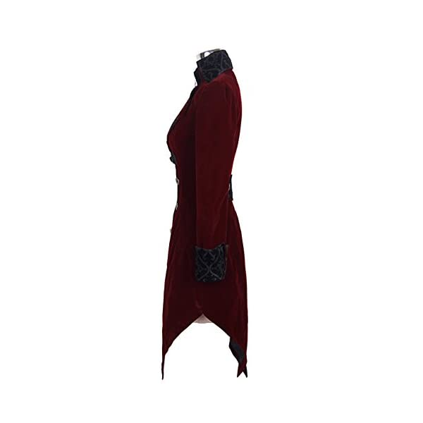 Devil Fashion Long Winter Jacket Outerwear