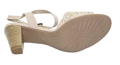 Marco Tozzi Klassische Sandalen 2-28325-24 Dune 405