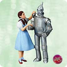 Dorothy Tin Man - Hallmark Dorothy and Tin Man From the Wizard of Oz Ornament