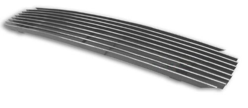 MaxMate Fits 94-96 Chevy Caprice With Impala SS Replacement Upper 1PC Horizontal Billet Polished Aluminum Grille Grill Insert