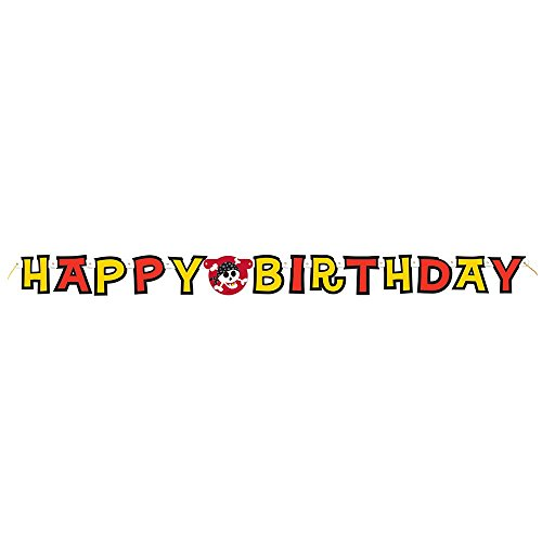 Pirate Party Happy Birthday Banner