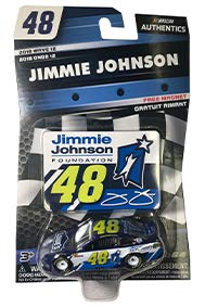 NASCAR Authentics Jimmie Johnson #48 Diecast Car 1/64 for sale  Delivered anywhere in USA