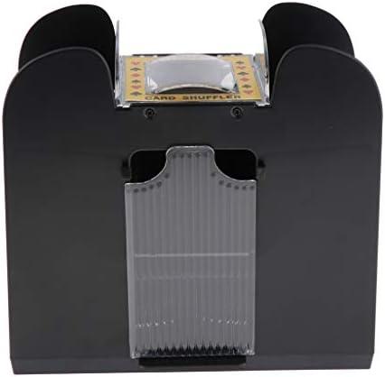 dailymall 2er Pack Kartenmischer Poker Spiel Kartenmischmaschine 6 Decks