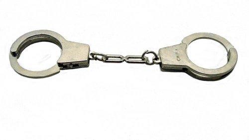 Stainless Steel Mini Handcuffs Keychain !!