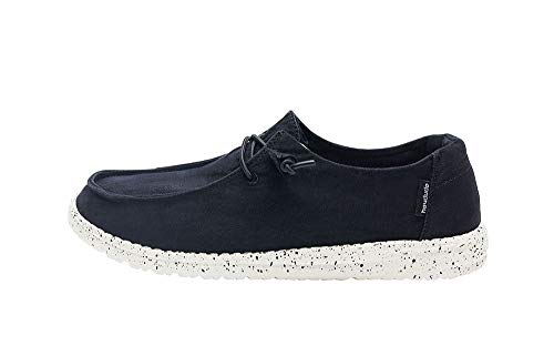 Black Signature Loafers Shoes - Hey Dude Women's Wendy L Black, Size 6