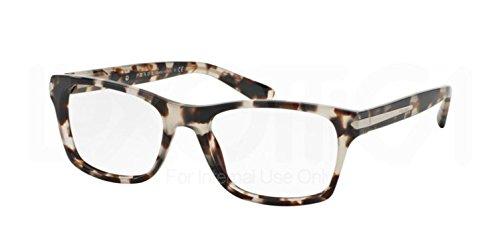Eyeglasses Prada PR 16 SV UAO1O1 SPOTTED OPAL BROWN