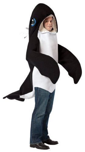 Rasta Imposta Killer Whale, Black/White, One -
