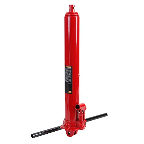 Torin Big Red Long Ram Hydraulic Jack: Single Piston, Clevis Base, 3 Ton Capacity by Torin