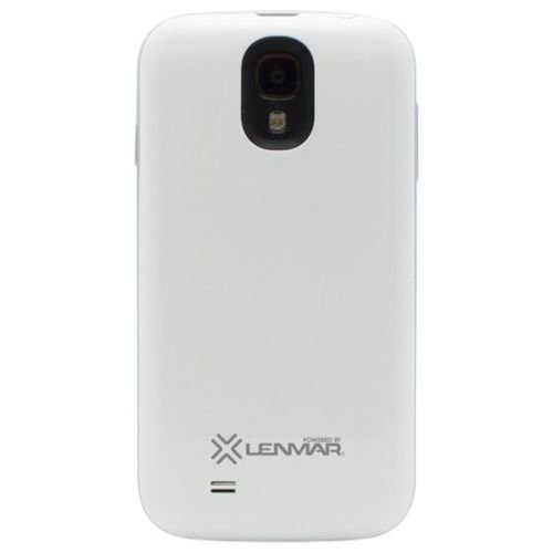 Lenmar Halo Battery Case for Samsung Galaxy S4 - White