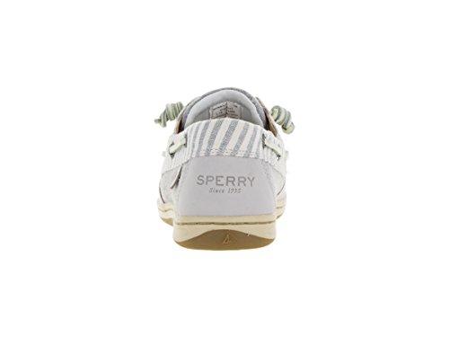 Sperry Top-sider Womens Songfish Core Bootschoen, Lichtgrijs Leder / Textiel, Wij 9