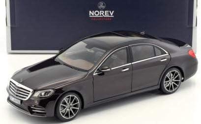 Mercedes Benz S Klasse AMG Line 2018 Ruby black met 1:18 Norev schwarz S Class