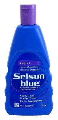 Selsun bleu Naturals Shampooing 2-en-1 Force 11 oz