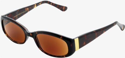 ICU Eyewear Virginia Eco Friendly Full Oval Sunglasses Tortoise - Sunglasses Manufacturer Custom