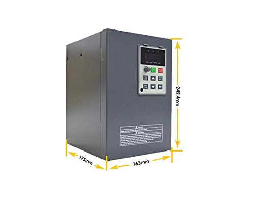 Variable Frequency Drive 7.5KW 10HP 380V 400Hz 17A 3PH VC V/F Control VFD for Lathe Air Blower
