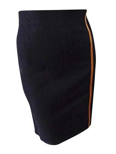 Ralph Lauren Stretch Wrap - Lauren Ralph Lauren Women's Stretch Denim Pencil Skirt (18, Blue)
