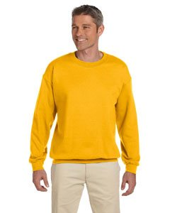 Gildan Men's Heavy Blend Crewneck Sweatshirt - Large - Gold ()