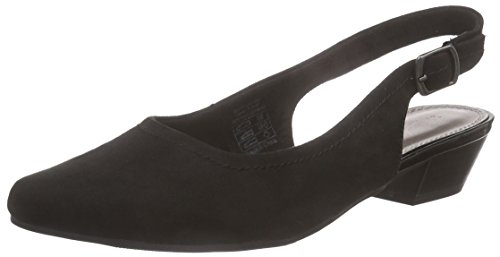 Jane Klain 294 048, Women's Sling Back Heels Black - Schwarz (Black 009)