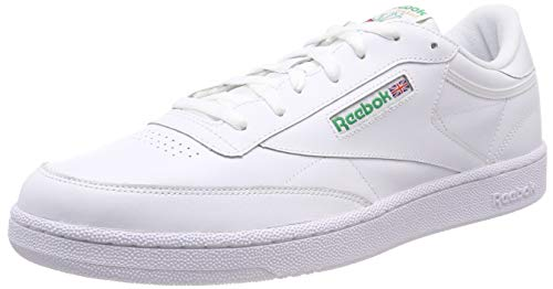bianche Club uomo verde int Sneakers Reebok 85 bianco C basse TUwARq