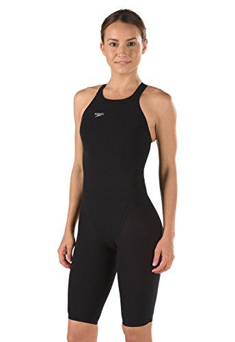 Speedo Swimsuit Lzr Racer - Speedo Women's LZR Elite 2 Closed Back Kneeskin Black 24