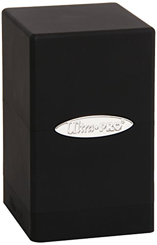 (Ultra Pro Black Satin Tower Deck Box)
