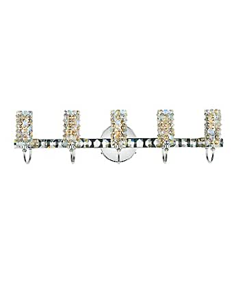 Elements 7 light wall sconce - 110 - 125V (for use in the U.S., Canada etc.), Dusk