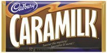 Caramilk 10 Bars 52 Grams Each Over a Pound From Canada by Cadbury