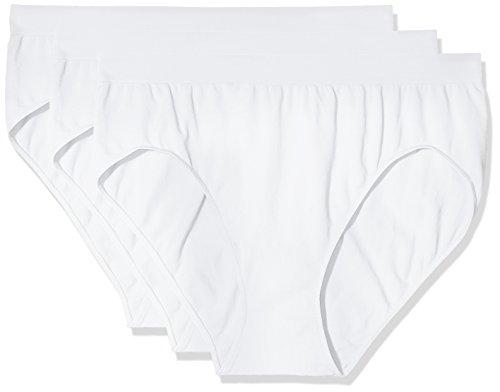 Slip Bianco bianco 3 Comfort Donna Da 0024 pacco Pompea FRqBw