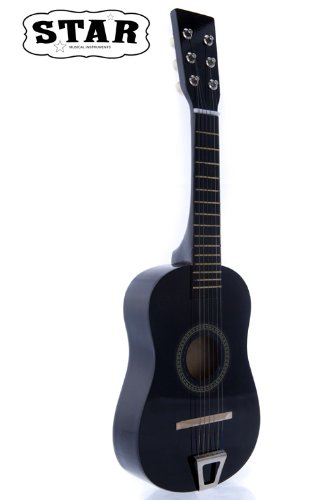 Star MG50-BK Kids Acoustic Toy Guitar 23-Inch, Black