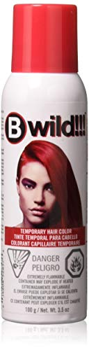 Temporary Red Hair Color Halloween (jerome russell B Wild Color Spray, Cougar Red, 3.5)