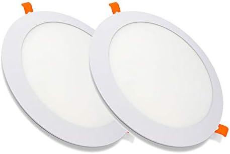 Pack de 2 Paneles LED Redondos ECOMAX · Downlight LED para ...