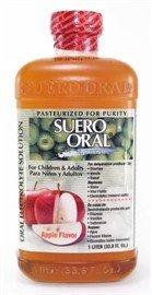 Suero Oral Electrolyte Solution Apple 1 Lt (33.8 FL OZ.)