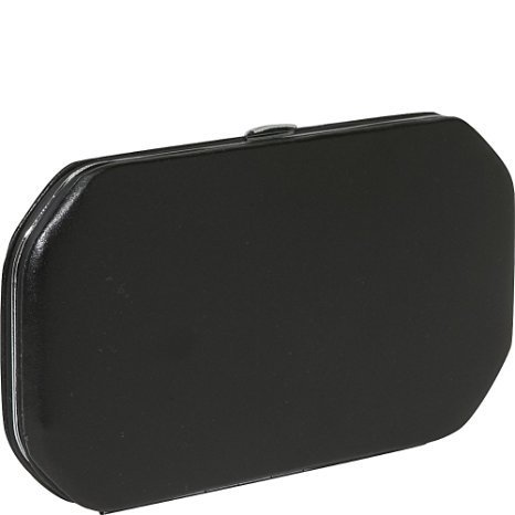 Budd Leather Company Women's Framed Solingen Chrome 7 Piece Manicure Set, Black, 1 Pound