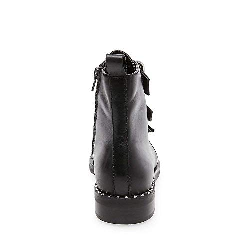 Black Steve Women's Recharge Casual Madden 5 Us Leather Bootie 6 rqFqtwU