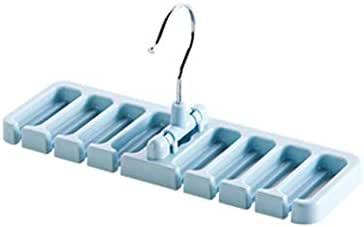 Panamami Creative Tie Shawl Scarf Rack Holder Inicio Cintur/ón Suspensi/ón Azul