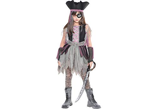 Amscan Haunted Pirate Halloween Costume - Medium (8-10) ()