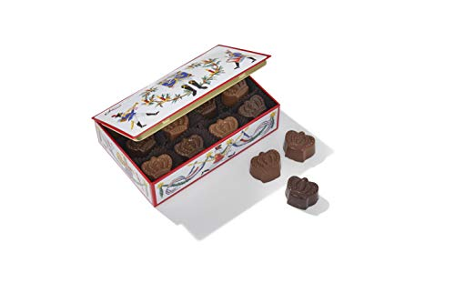 Louis Sherry Nutcracker Tin with Sea Salt Caramel Truffles