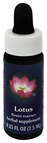Flower Essence Services Supplement Dropper, Lotus, 0.25 Ounce ()