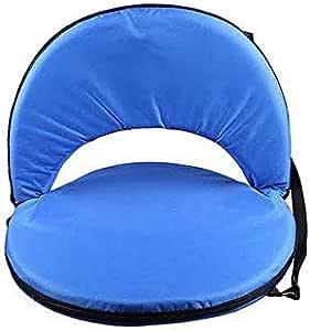 مقعد قابل للحمل، ازرق