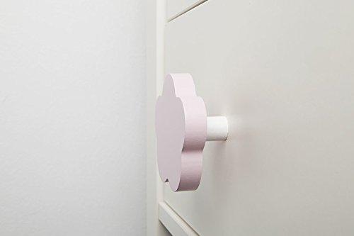 Lorena Canals - Rosa Luz paquete de 2 Mango muebles nube rosa