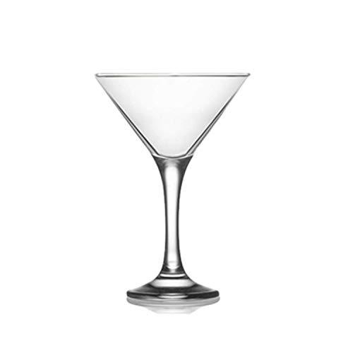Epure Milano Collection 24 Piece Glass Set Martini Glass 6 oz