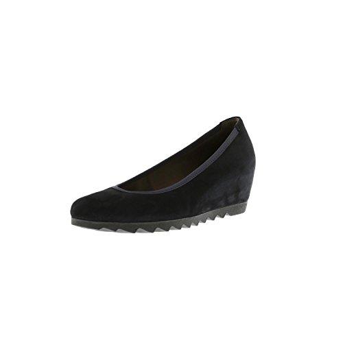 Donna Suede Gabor Navy Basic Ballerine Shoes qwxHPpS