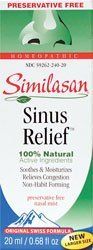 Similasan Sinus Relief Spray Nasal - 20 ml (0,68 oz)