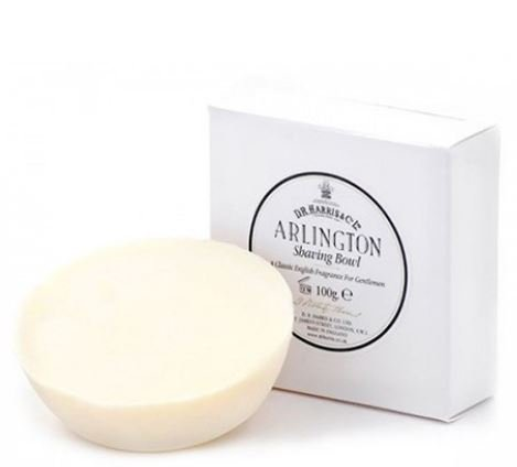 D.R.Harris & Co Arlington Triple-Milled Shaving Soap Refill 100g