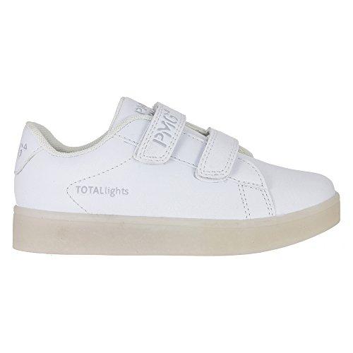 PRIMIGI 73220 sneakers scarpe da bambini unisex con luci a led e velcro